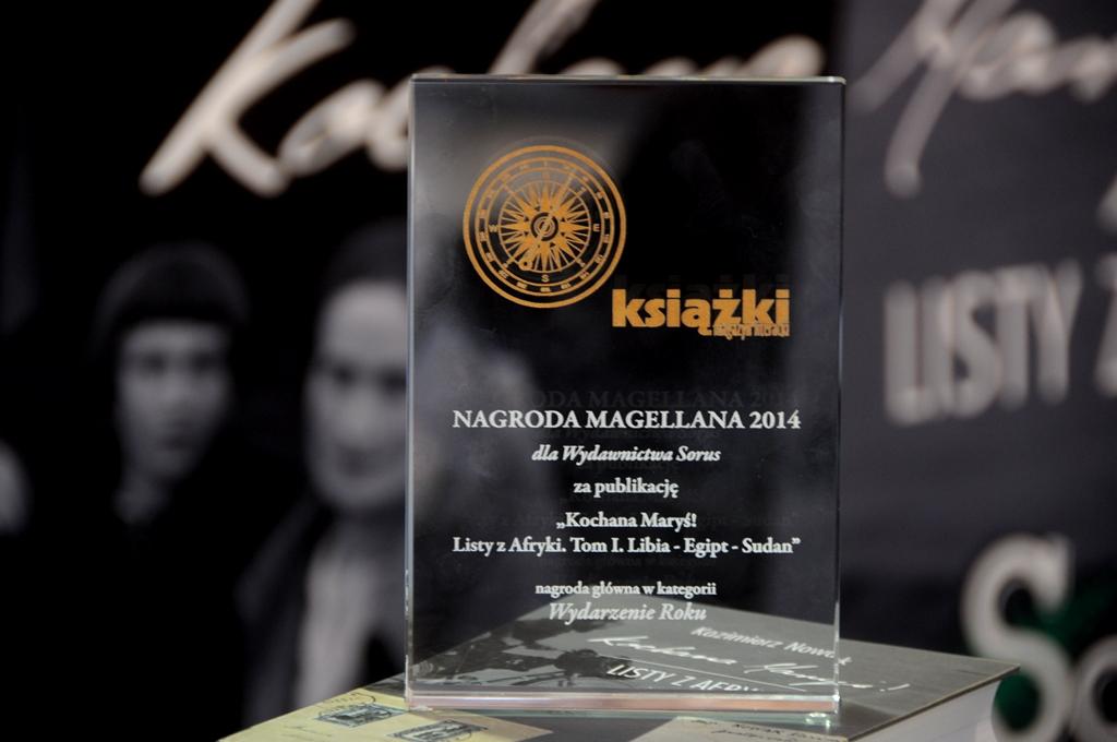 """""""Wydarzenie Roku"""" – Nagroda Magellana dla """"Kochanej Maryś!"""""""